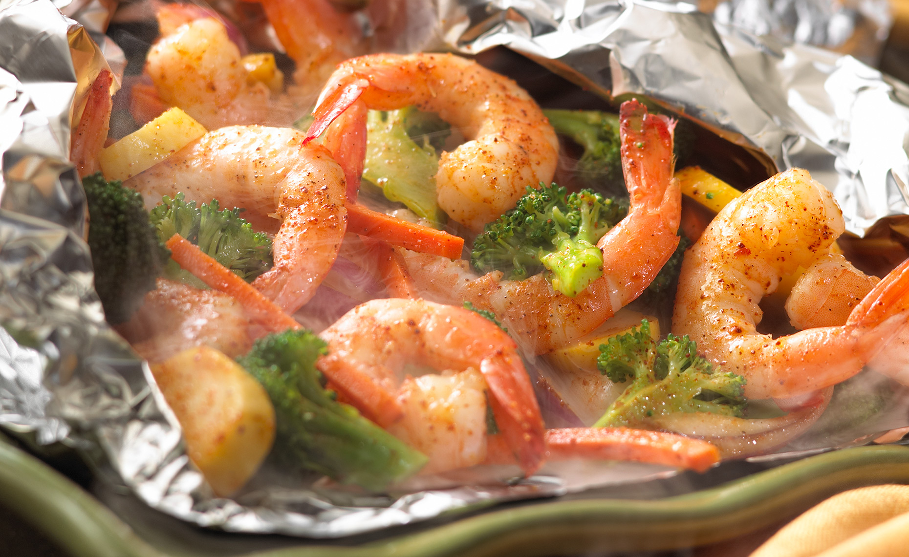 Food Photographer, Seafood Photography | Pohuski Studios,  Steamed Shrimp Foil