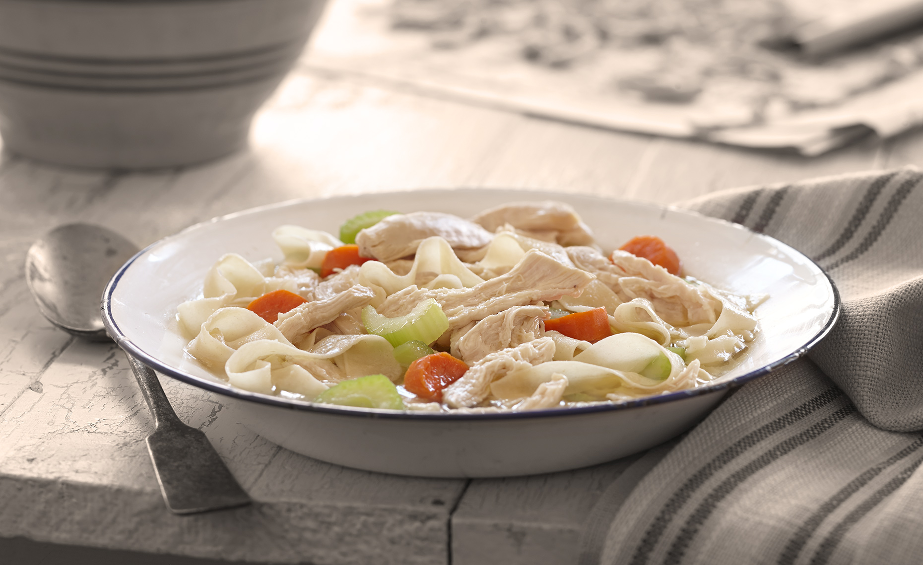 Food Photographer,  Chicken Photography, Poultry Photography | Pohuski Studios,  Chicken Noodle Stew
