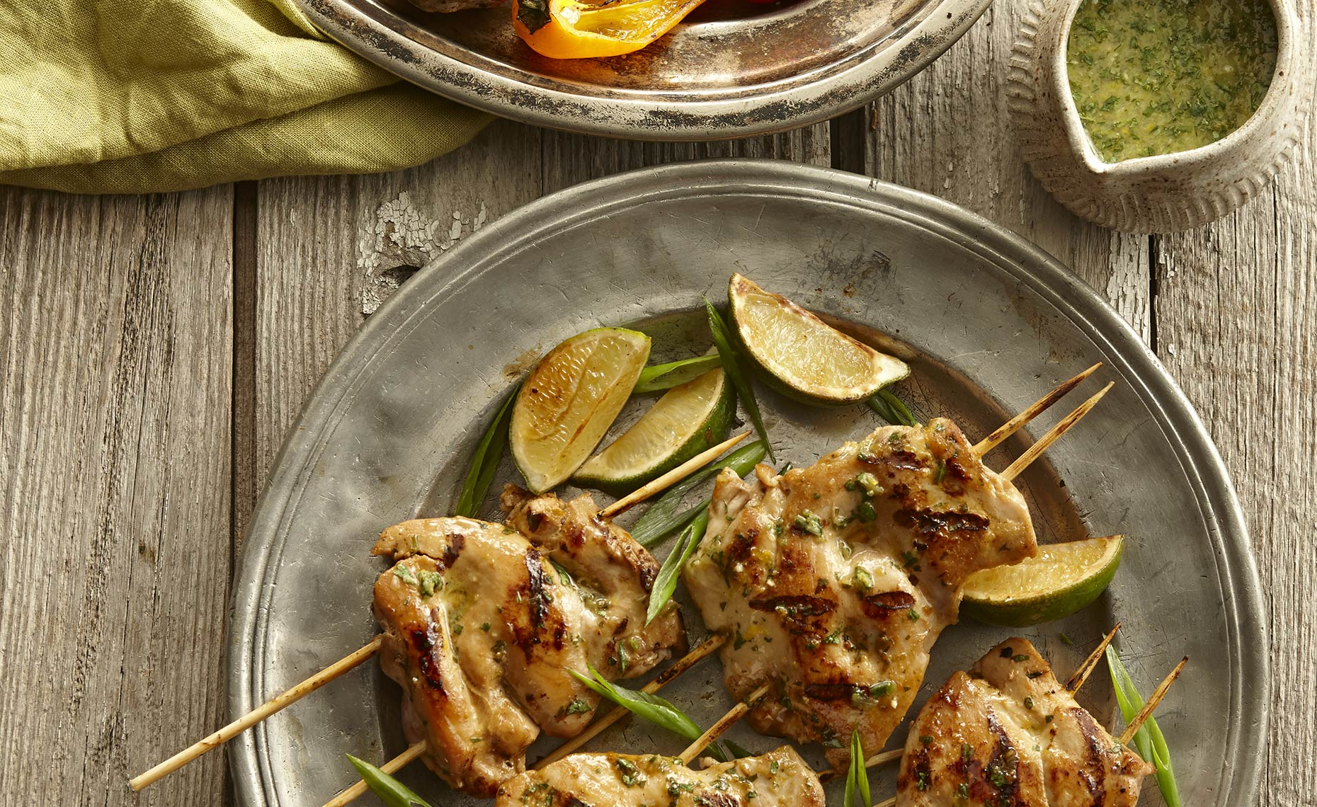 Food Photographer,  Chicken Photography, Poultry Photography | Pohuski Studios,  Citrus Chicken Skewers