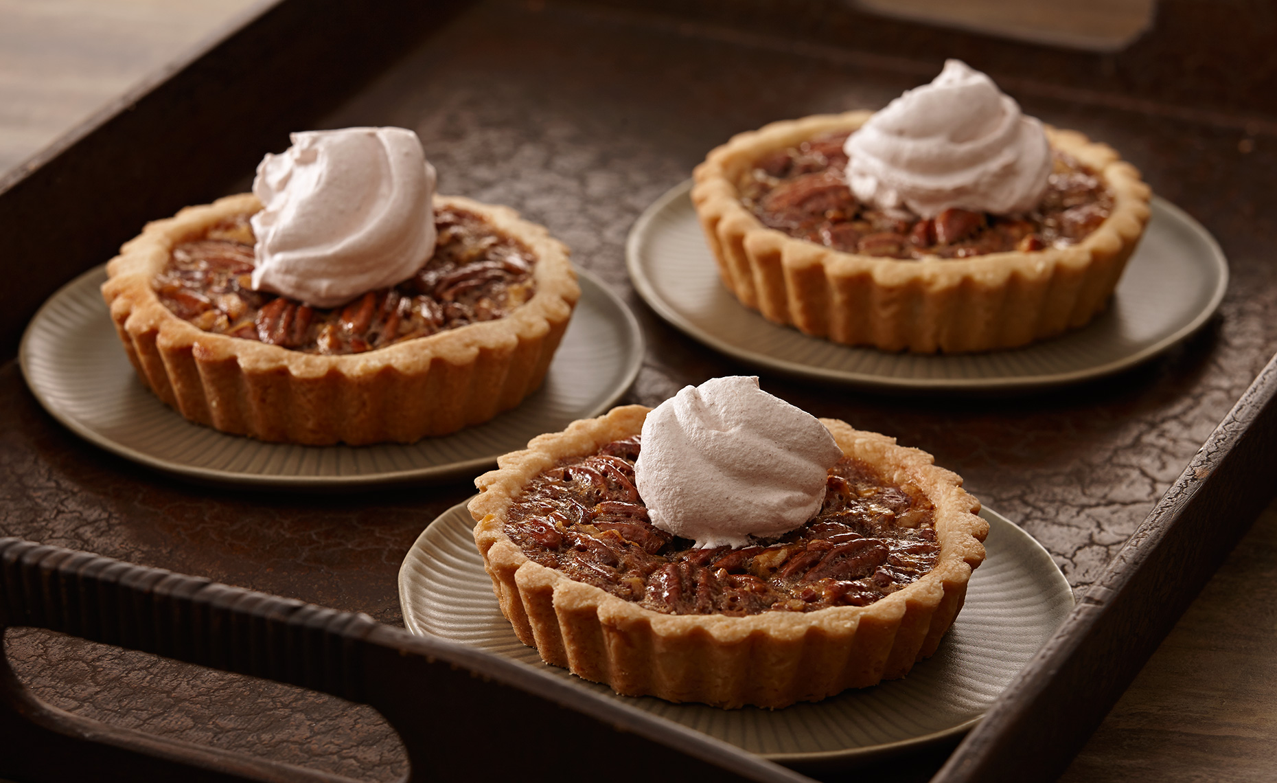 Food Photographer, Cake Photography, Ice Cream Photography, Dessert Photography | Pohuski Studios,  Pecan Pie Tarts