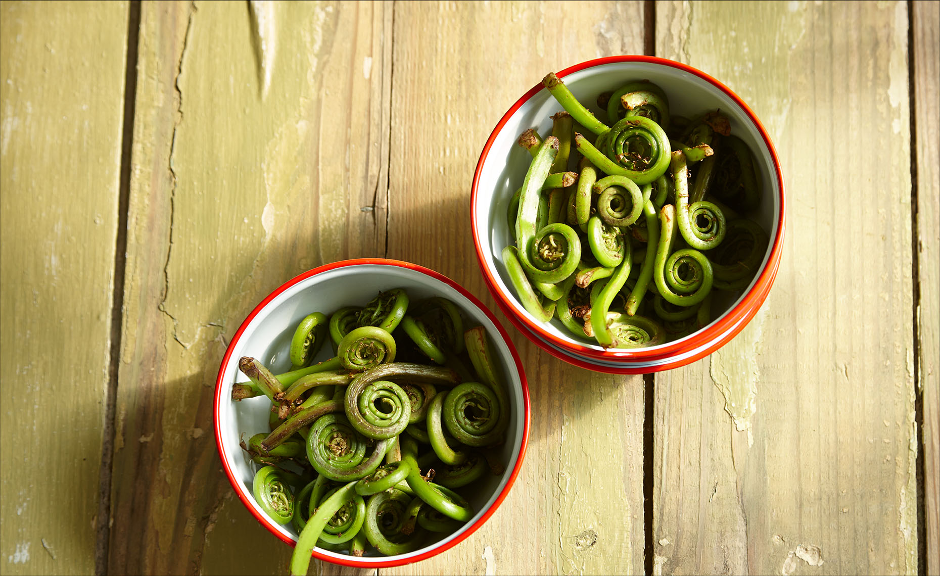 Food Photographer, Vegetable photography, Fruit photography | Pohuski Studios,  Fresh Fiddleheads