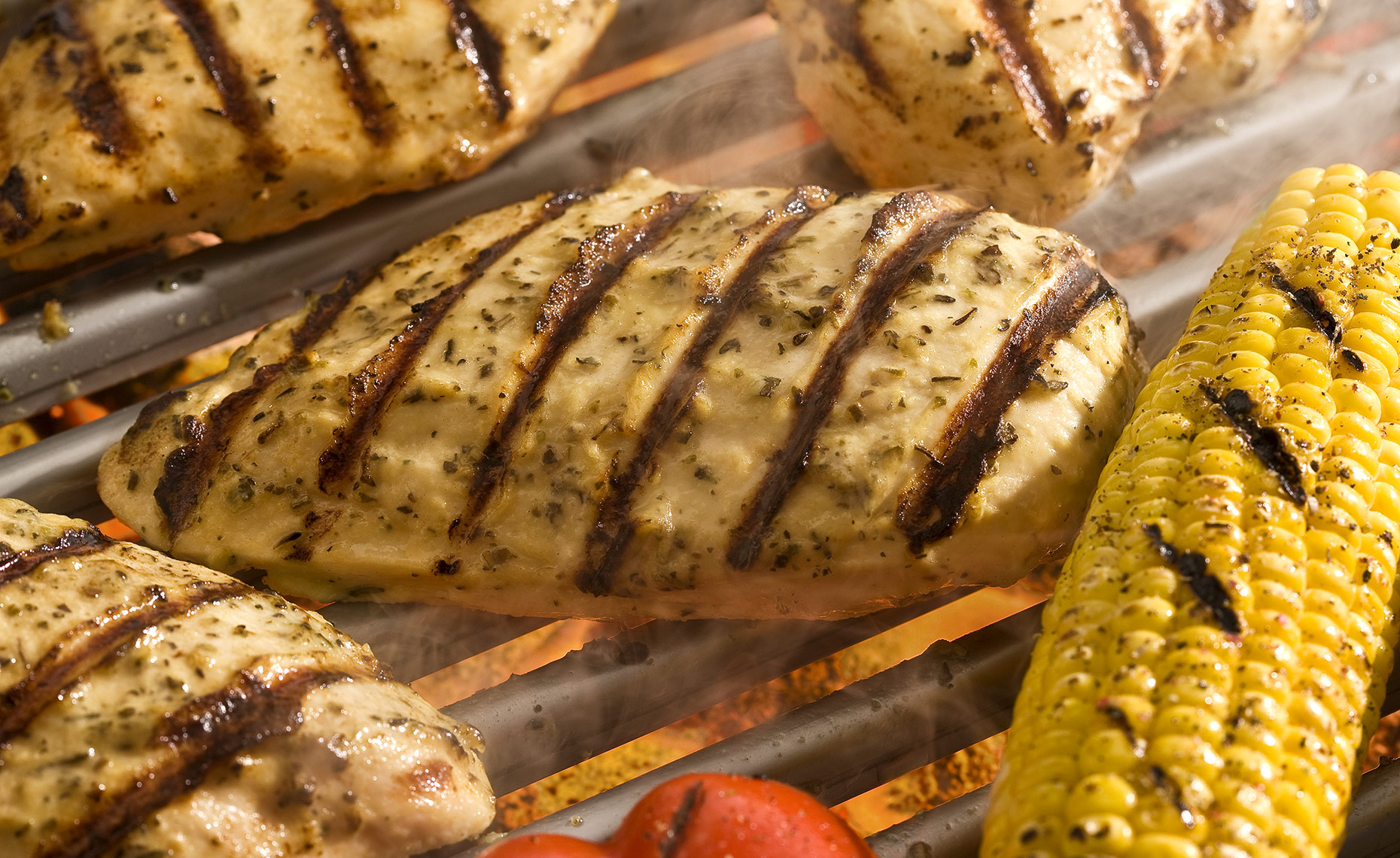 Food Photographer,  Chicken Photography, Poultry Photography | Pohuski Studios,  Grilled Italian Chicken