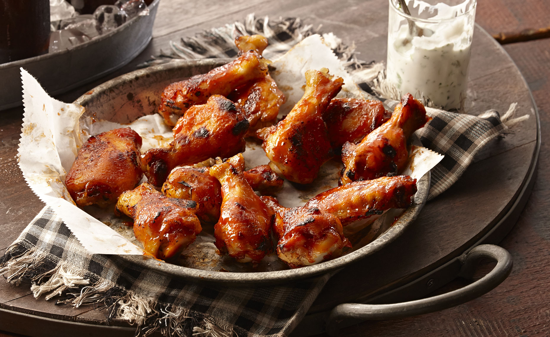 Food Photographer,  Chicken Photography, Poultry Photography | Pohuski Studios,  Grilled Honey Sriracha Wings