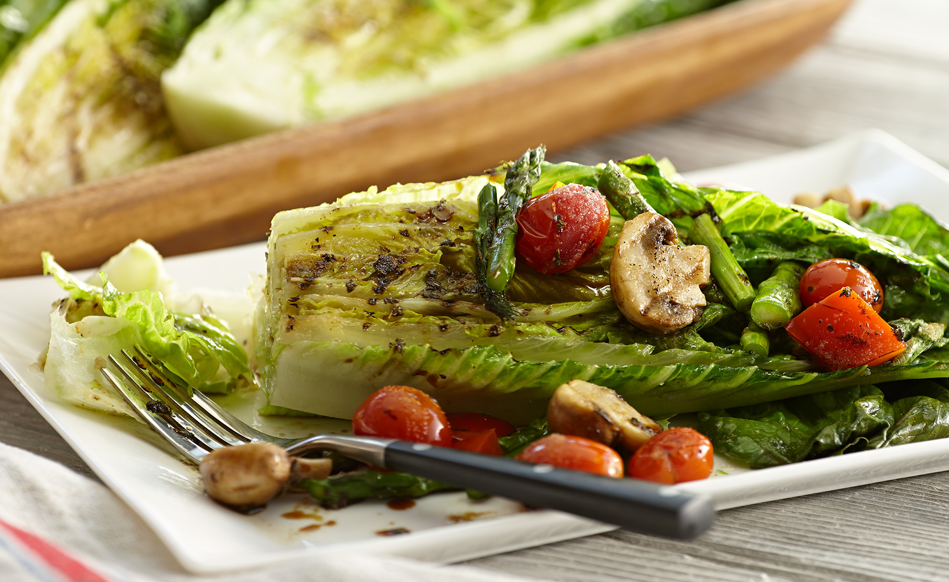 Food Photographer, Vegetable photography, Fruit photography | Pohuski Studios,  Grilled Romaine Salad