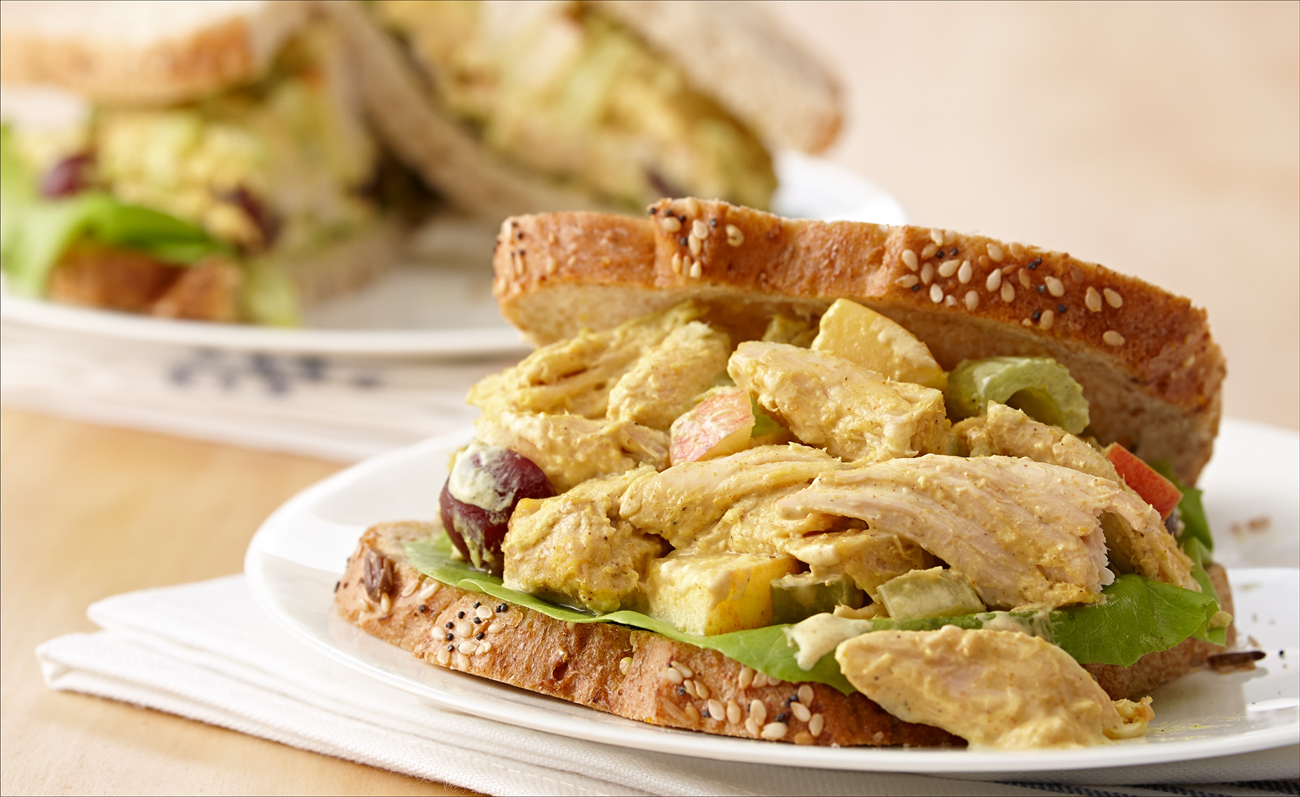 Food Photographer,  Chicken Photography, Poultry Photography | Pohuski Studios,  Curry Chicken Salad