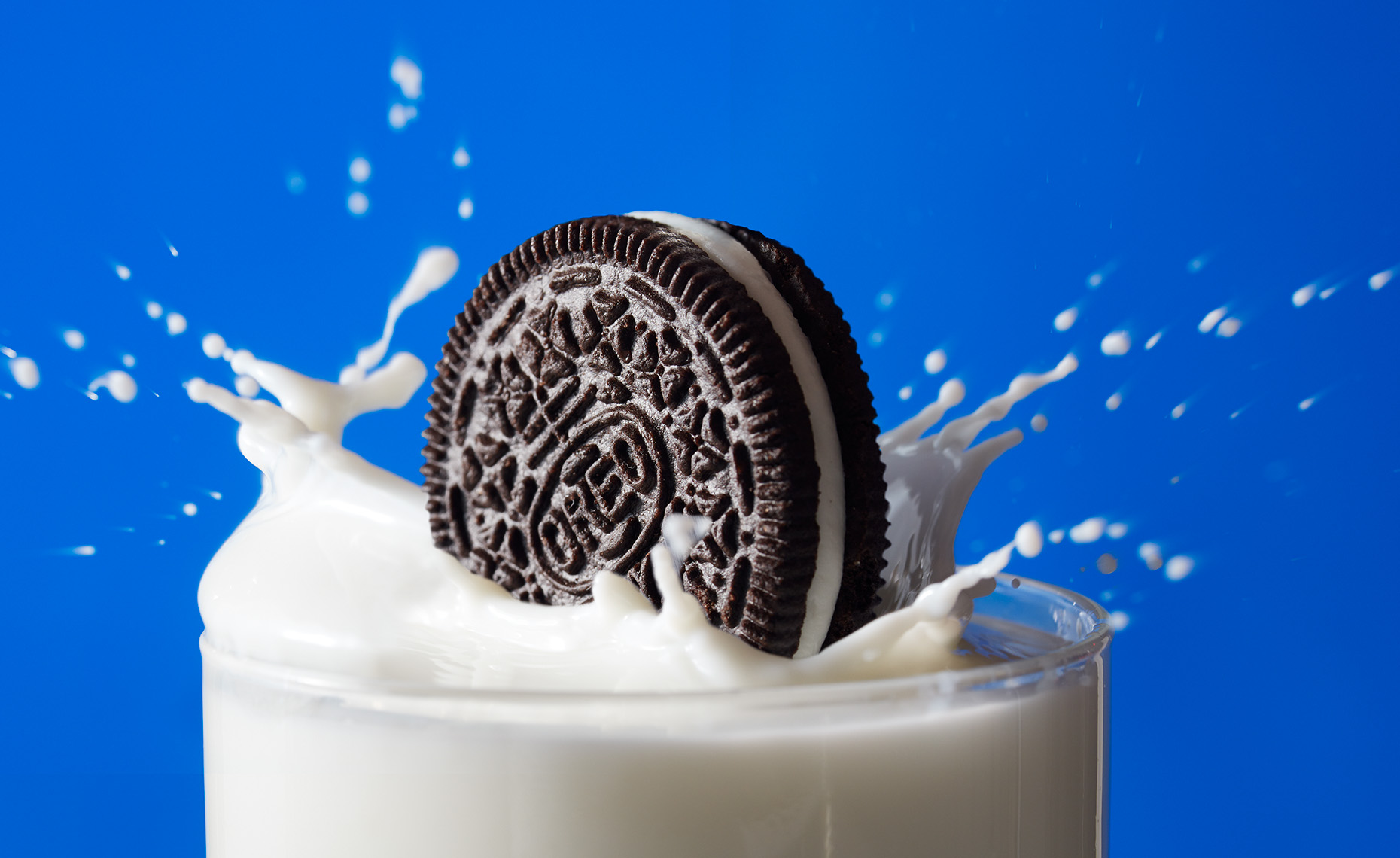 Oreo Cookie Splash