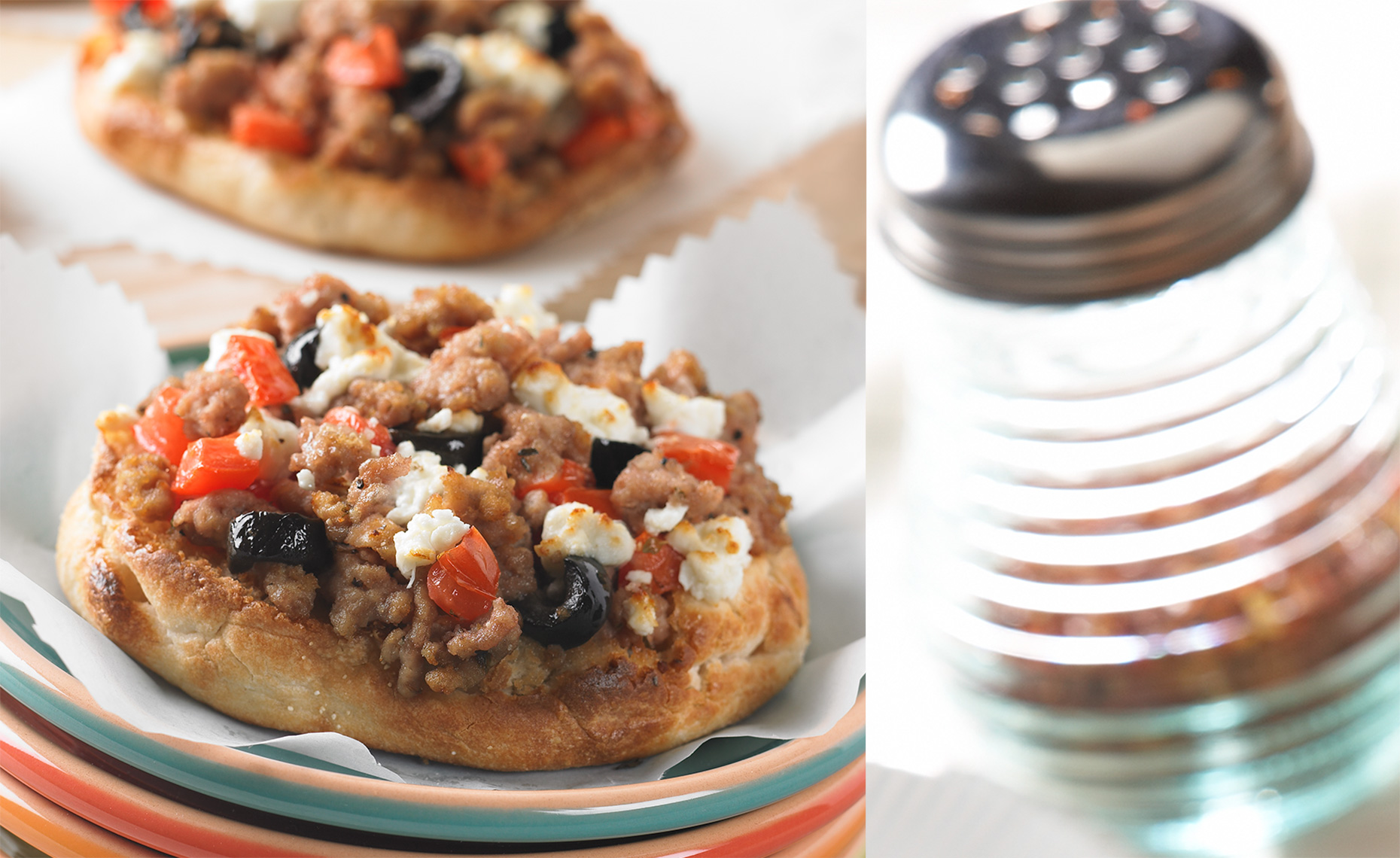 Fast Food Photographer, Burger Photography, Pizza Photography | Pohuski Studios,  Pizza Bagels Red Pepper