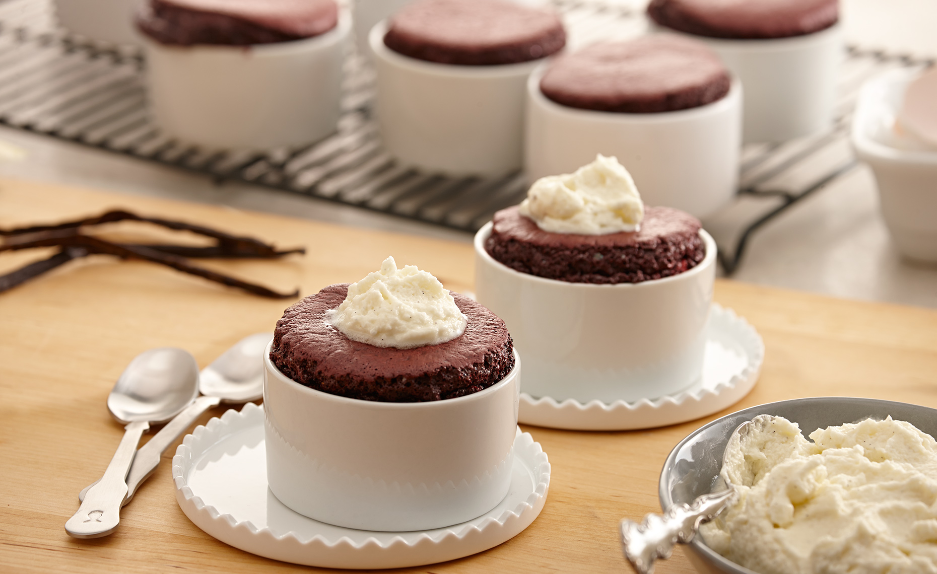 Food Photographer, Cake Photography, Ice Cream Photography, Dessert Photography | Pohuski Studios,  Red Velvet Souffle