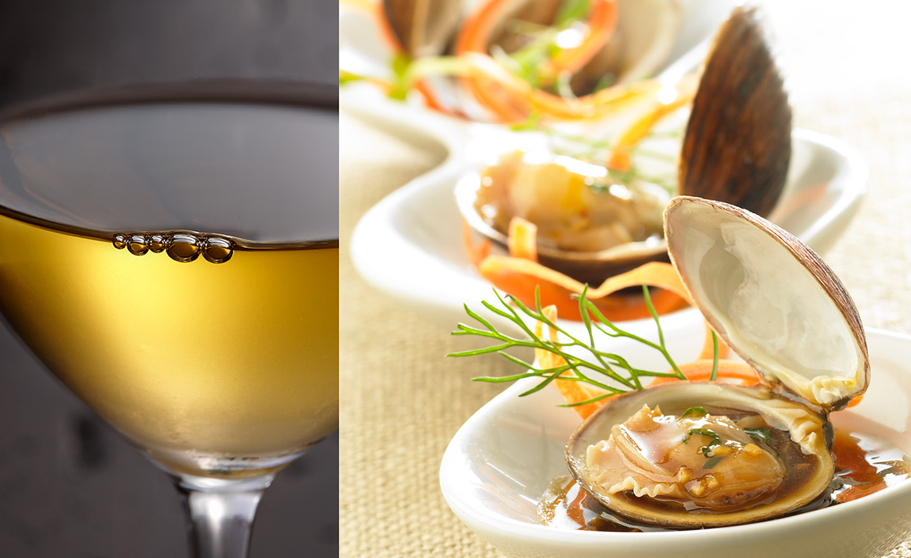 Food Photographer, Seafood Photography | Pohuski Studios,  Chardonnay Thai Mussels