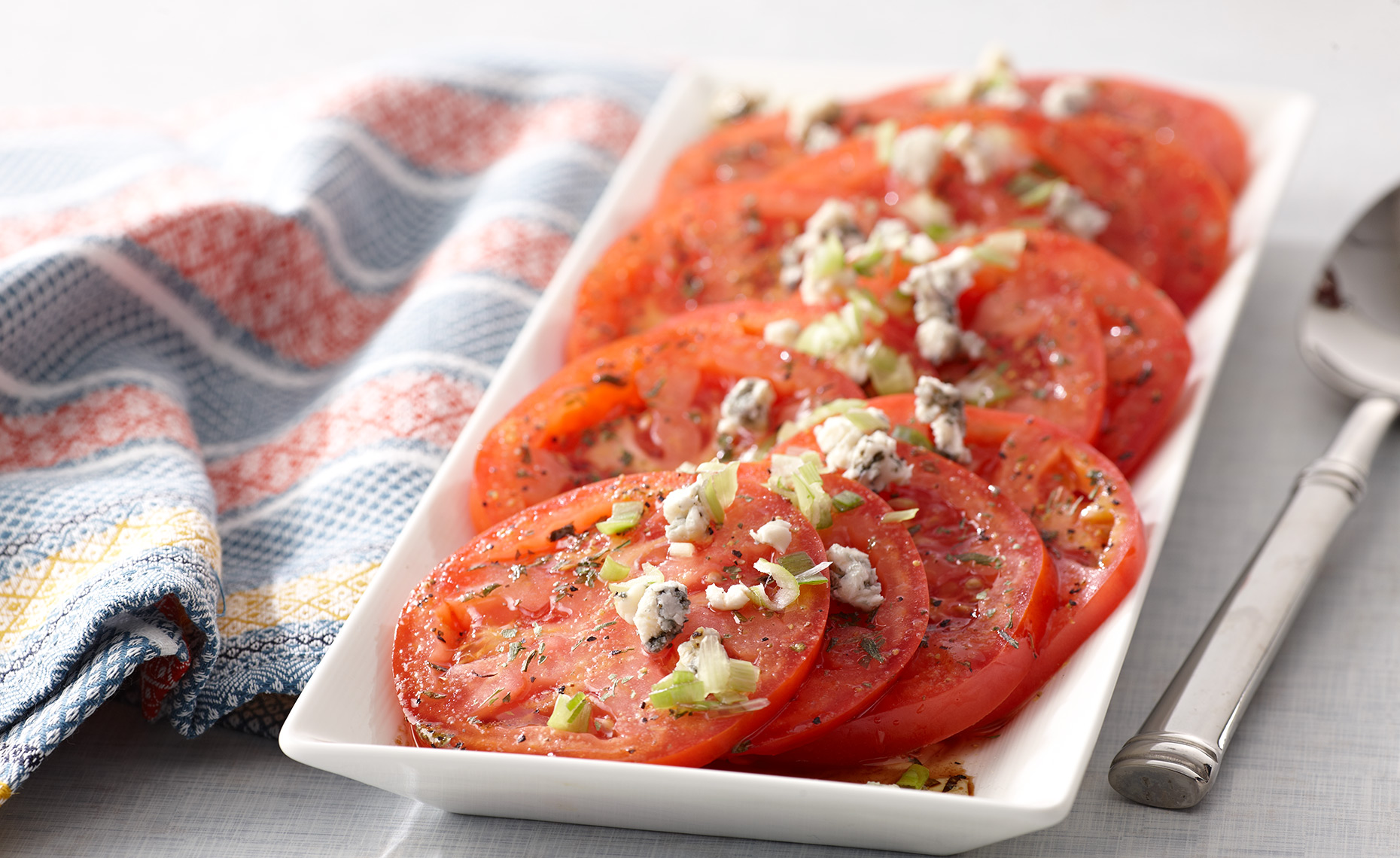 Food Photographer, Vegetable photography, Fruit photography | Pohuski Studios, Tomatoes Blue Cheese
